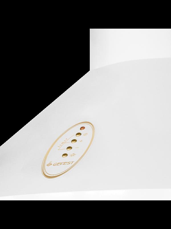 Кухонная вытяжка Gefest ВО 1504 К62 панель управления