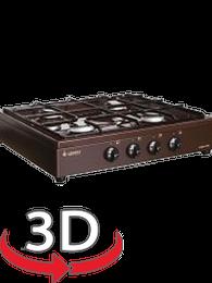 Настольная плита Gefest ПГ 900 К17