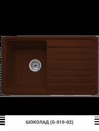 Кухонная мойка Granicom G010