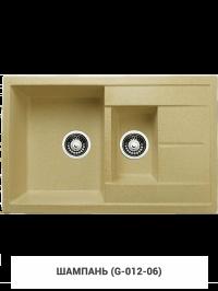 Кухонная мойка Granicom G012