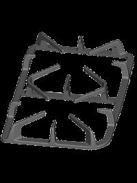 Решетка чугунная литая VKKG-SN 1210-15